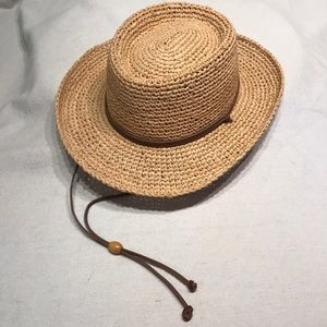 Straw Wide Brim Ladies Hat